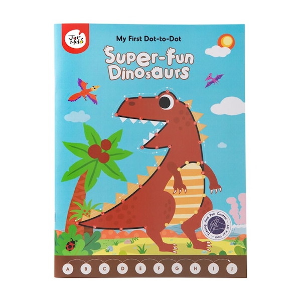 My First Dot-to-Dot Super-fun Dinos Drawing Book