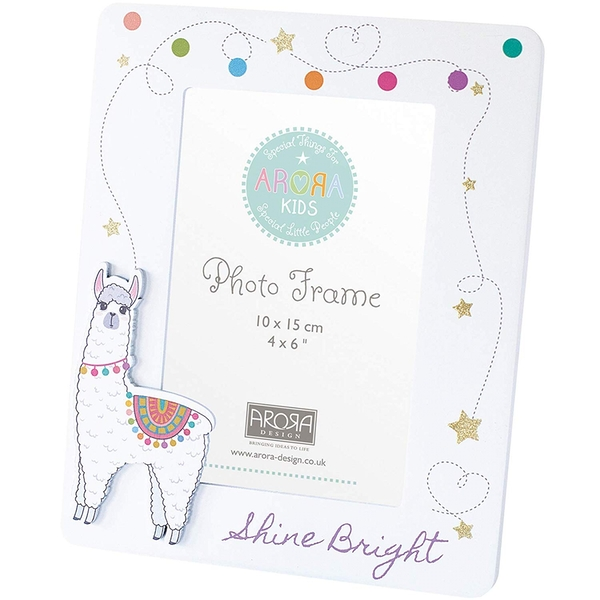 Arora Kids Photo Frame Llama