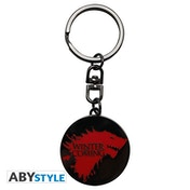 Game Of Thrones - Winter Is Coming Metal Keyring