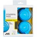 JVC HASR185AN Powerful Bass Headphones with Remote Mic Blue - Image 2