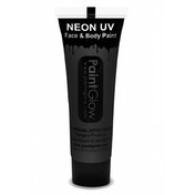 (5 Pack) PaintGlow UV Neon Face & Body Paint (Black) 10ml