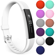 Yousave Activity Tracker Single Strap - White (Large)