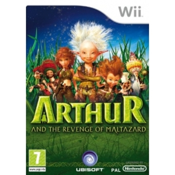 Arthur & The Revenge of Maltazard Game Wii