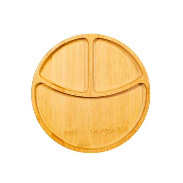 Sass & Belle Bamboo Section Plate