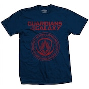 Guardians of the Galaxy Vol. 2 Seal Men's Small T-Shirt - Black