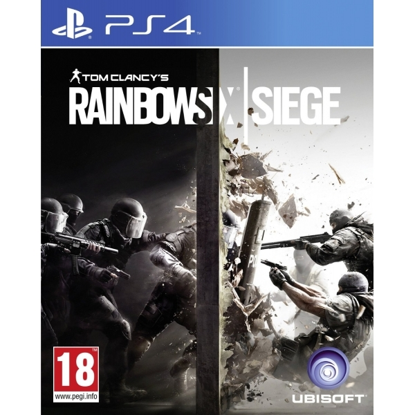 Image of Tom Clancy's Rainbow Six Siege PS4 Game