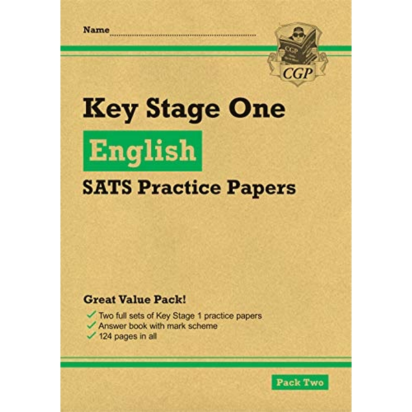 New KS1 English SATS Practice Papers: Pack 2 (for the 2021 tests)  Paperback / softback 2018