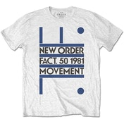 New Order - Movement Men's XX-Large T-Shirt - White
