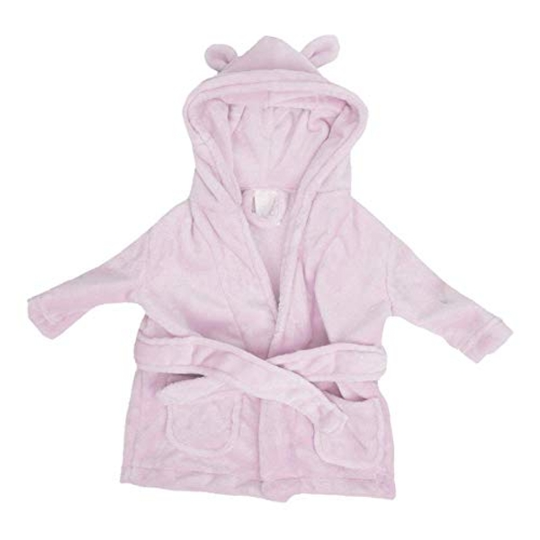 Bambino Baby's First Bathrobe - 3 to 6 Months - Pink