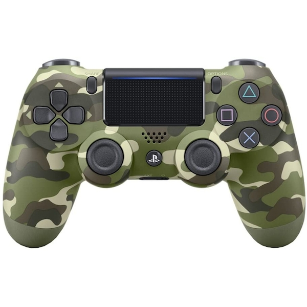 Sony Dualshock 4 V2 Green Camo Controller PS4 - Image 1