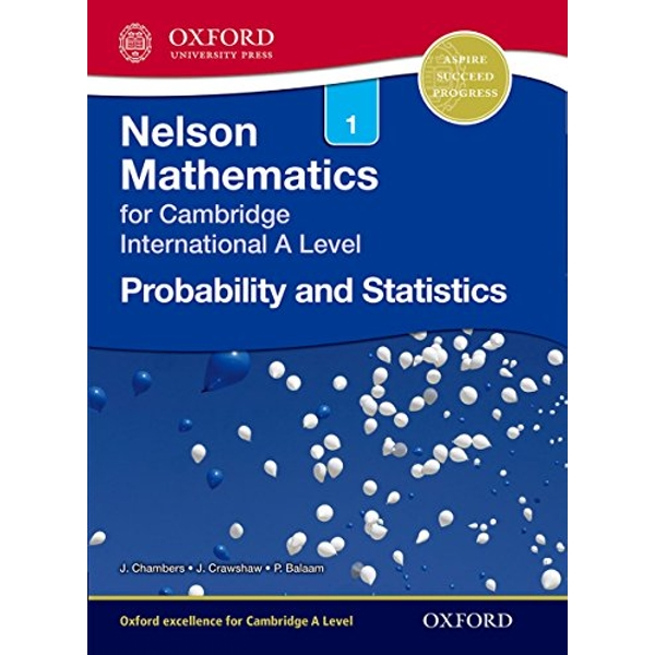 Nelson Probability and Statistics 1 for Cambridge International A Level by Janet Crawshaw, Joan Chambers (Paperback, 2012)