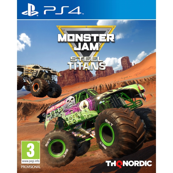 Monster Jam Steel Titans PS4 Game