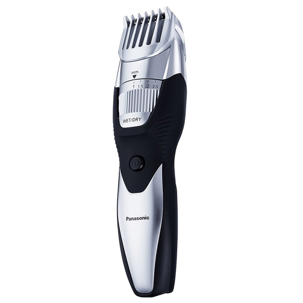 Panasonic ERGB52S Wet/Dry Rechargeable Beard Trimmer - Silver UK Plug