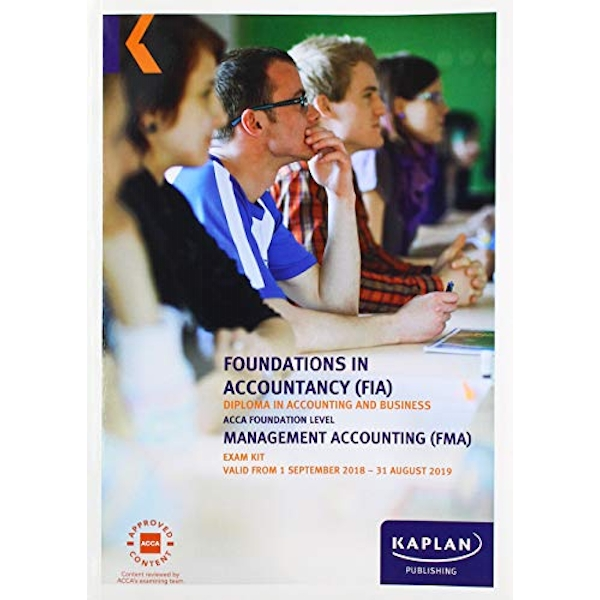 FMA - MANAGEMENT ACCOUNTING - EXAM KIT  Paperback / softback 2018