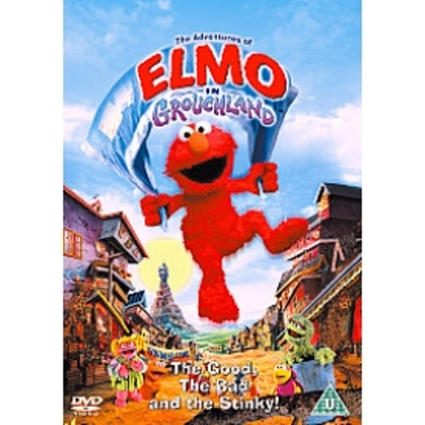 Adventures Of Elmo In Grouchland DVD