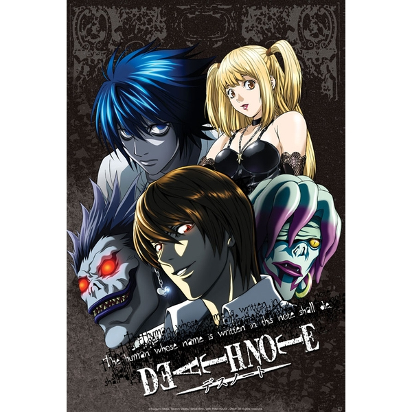 Death Note - Group #1 Small Poster