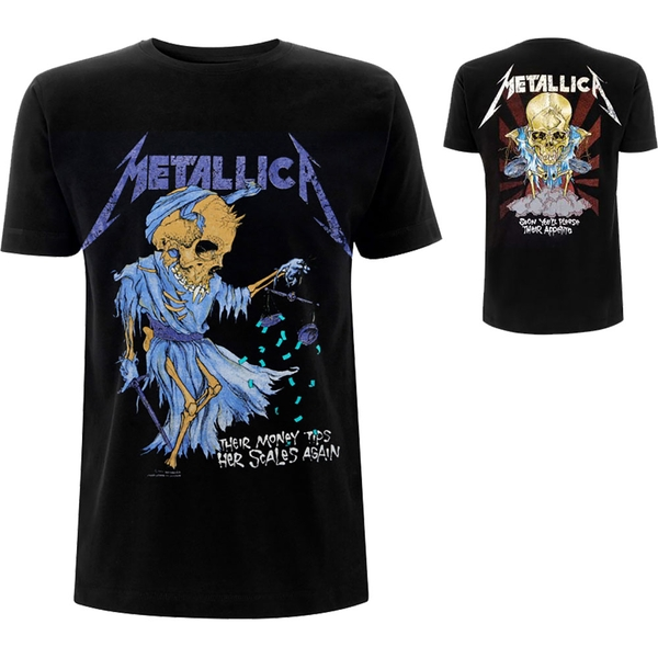 Metallica - Doris Men's XX-Large T-Shirt - Black