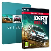 Dirt Rally 2.0 Day One Edition PC Game + Steelbook