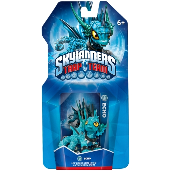 Echo (Skylanders Trap Team) Water Character Figure