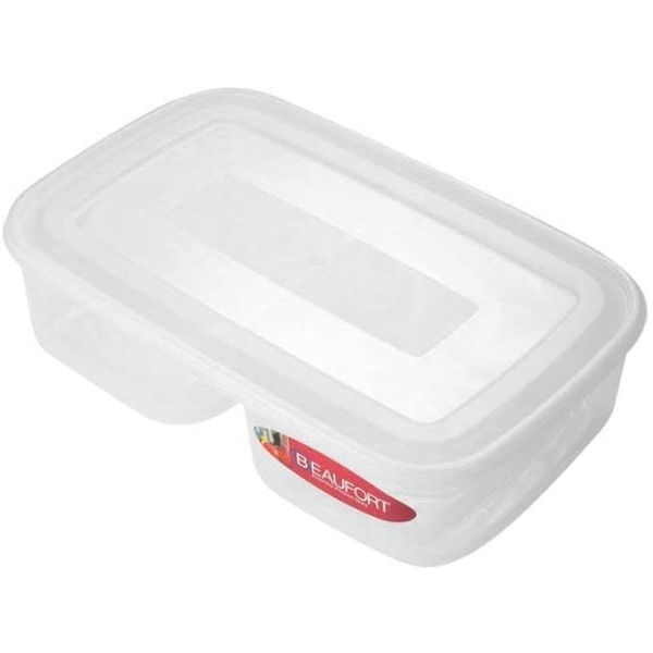 Beaufort Food Container Square 2 Section 13L