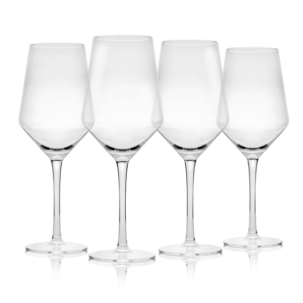 Set of 4 Wine Glasses | M&W