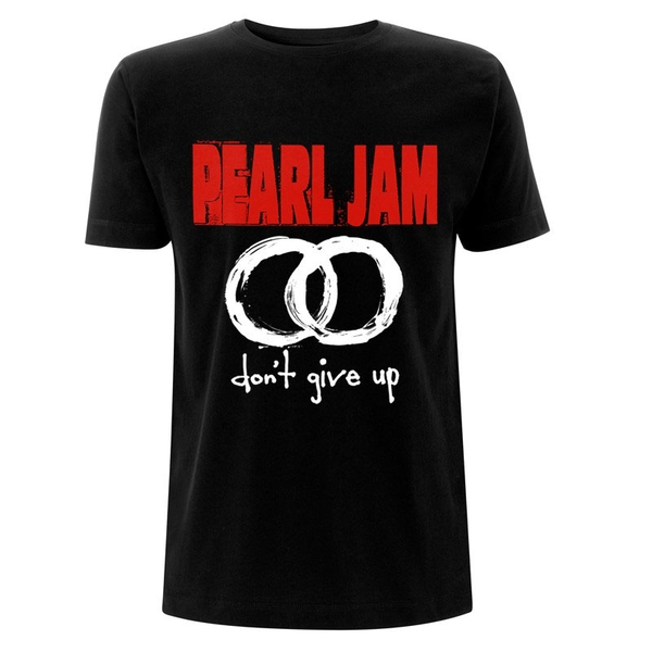 Pearl Jam - Don't Give Up Men's Large T-Shirt - Black