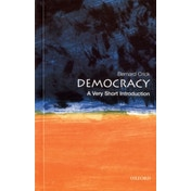 Democracy: A Very Short Introduction by Bernard Crick (Paperback, 2002)