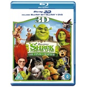 Shrek Forever After 3D 3D Blu-Ray 2D Blu-Ray and DVD