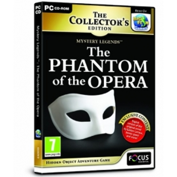 Mystery Legends: The Phantom of the Opera Collector's Edition Game PC