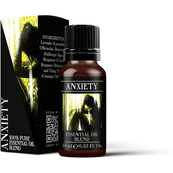 Mystic Moments Anxiety Essential Oil Blends 10ml