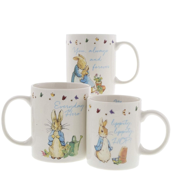 Peter Rabbit Mummy Daddy & Me Mug Gift Set