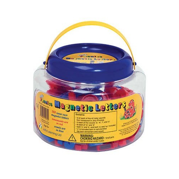 Jolly Phonics Magnetic Letters In Precursive Letters (tub of 106) Other merchandise 2011