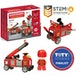Magformers - Firefighters Rescue Magnetic Building Set (Multicolour) - Image 2