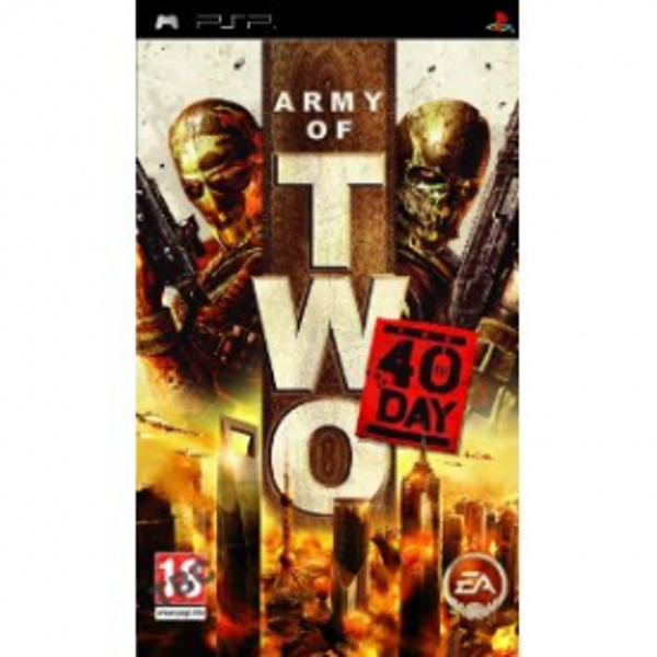 Army of Two The 40th Day Game PSP