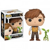 (Damaged Packaging) Newt Scamander with Pickett (Fantastic Beasts & Where To Find Them) Funko Pop! Vinyl Figure Used - Like New