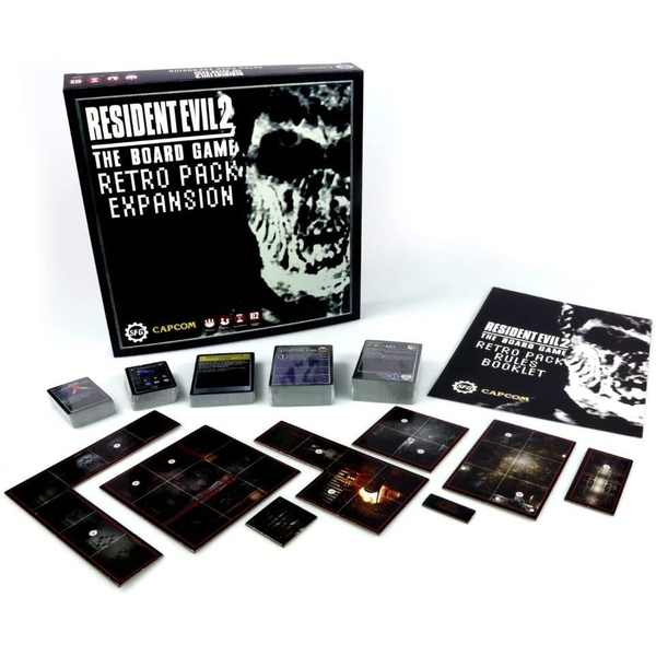 Resident Evil 2 Pack Expansion Board Game