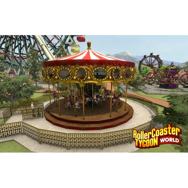 Roller Coaster Tycoon World PC Game - Image 2