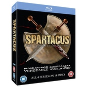 Spartacus 1-4 The Complete Collection Blu-ray