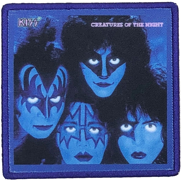 KISS - Creatures of the Night Standard Patch