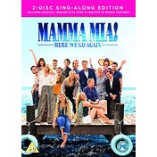 Mamma Mia: Here We Go Again! 2 Disc Edition DVD