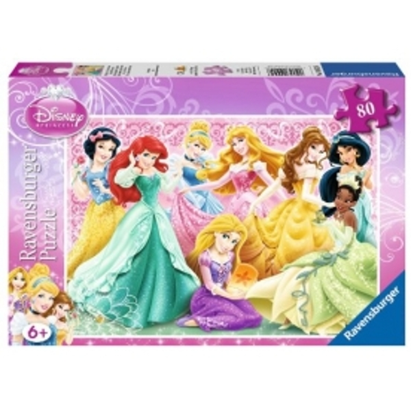 Disney Princess 80 Piece Jigsaw Puzzles