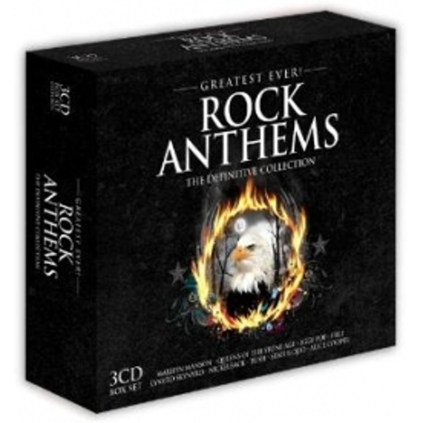 Greatest Ever Rock Anthems CD