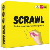 Scrawl Doodle Your Way To Disaster Board Game