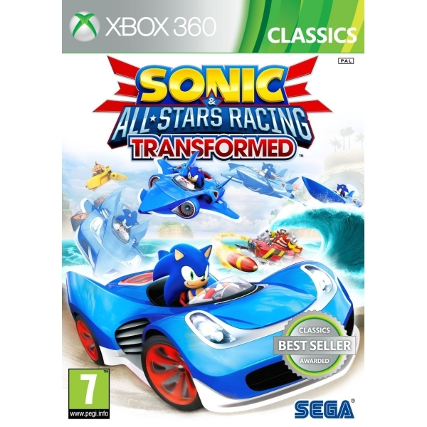Sonic & Sega All-Stars Racing Transformed (Classics) Game Xbox 360