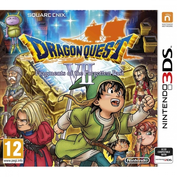 Ex-Display Dragon Quest VII Fragments of the Forgotten Past 3DS Game