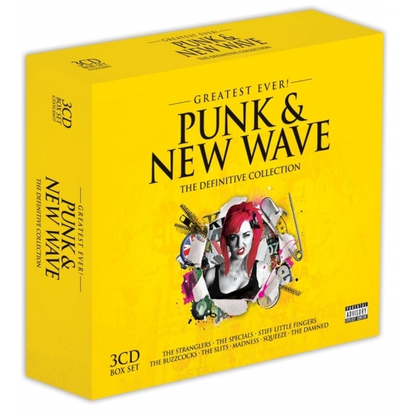 Various Artists - Greatest Ever! Punk & New Wave CD