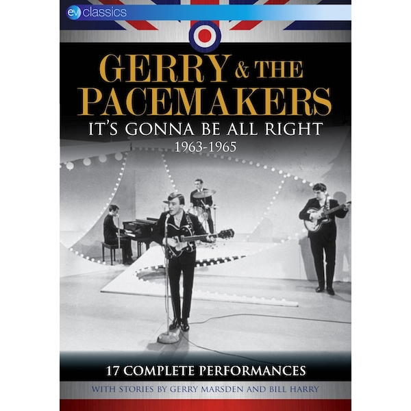 Gerry & the Pacemakers - It's Gonna Be All Right 1963-1965 DVD