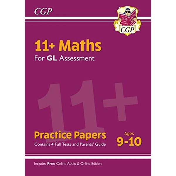 New 11+ GL Maths Practice Papers - Ages 9-10 (with Parents' Guide & Online Edition)  Paperback / softback 2019