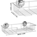 Stainless Steel Shower Caddy | M&W - Image 3