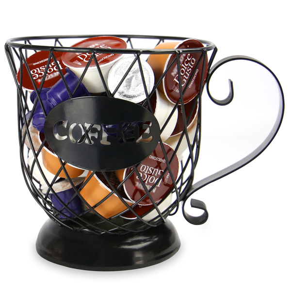 Coffee Mug Storage Basket | M&W
